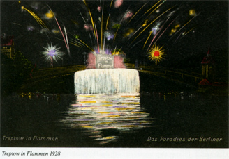 Treptow in Flammen 1928